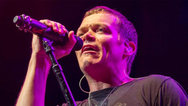 Brad Arnold with 3 Doors Down performs during the Songs From the Basement Tour at The Tabernacle on Wednesday, Sep. 10, 2014, in Atlanta. (Photo by Katie Darby/Invision/AP)