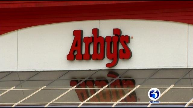 Employees at the Arby's in Plantsville said they have been working without air-conditioning. (WFSB)