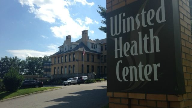 There was a brief lockdown at Winsted medical center on Tuesday. (WFSB)
