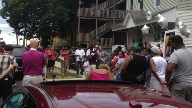 Friends and family members remembered Jonathan Whaley on Tuesday. (WFSB)