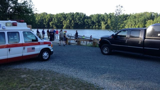 Crews searched the Farmington River for a man the drowned.. (WFSB)