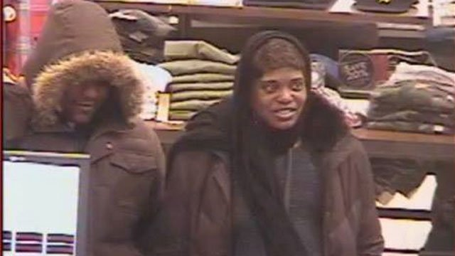 Police said this man and woman stole a wallet and used the credit cards at multiple stores. (Glastonbury Police)
