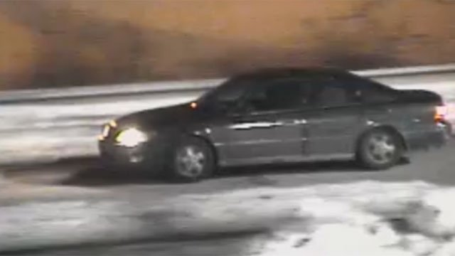 This vehicle is believed to be connected to credit card theft. (Glastonbury Police)