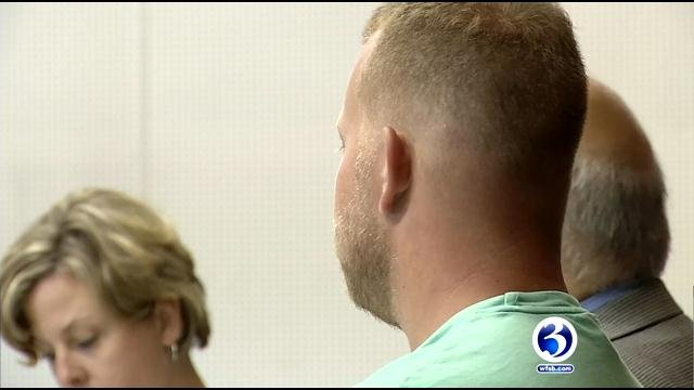 Phillip Rahilly was arraigned in court on Thursday. (WFSB)