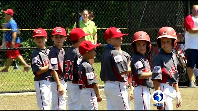 Eight-year-olds from all across the country are coming to Waterbury for a baseball tournament. (WFSB)