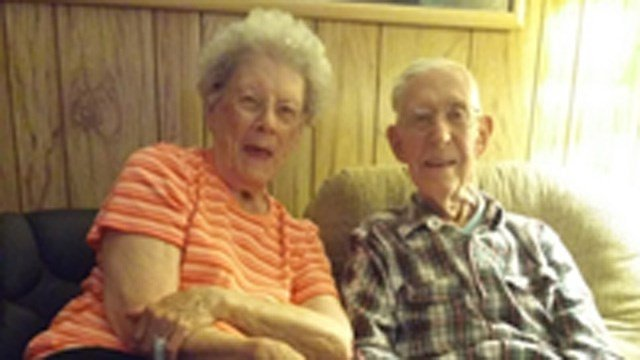 Betty and Red Corning. (West Hartford police photo)