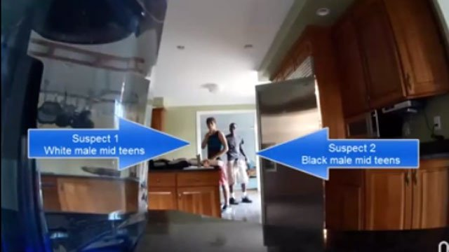 Police released this video of the teens suspected of a home burglary. (Stamford Police Department)