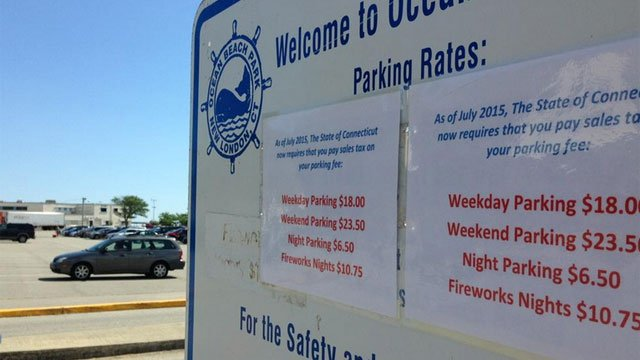 The parking rates at some CT beaches including Ocean Beach are causing with some town officials and park patrons. (WFSB)