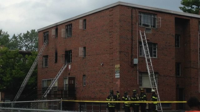 Fire reported on Vine Street in Hartford. (WFSB)