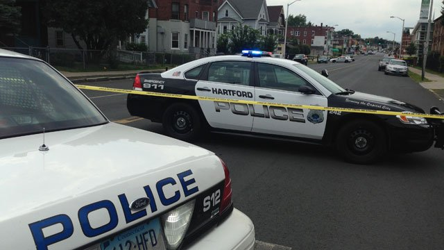 A man is dead, according to police, after a shooting in Hartford on Sunday. (WFSB)