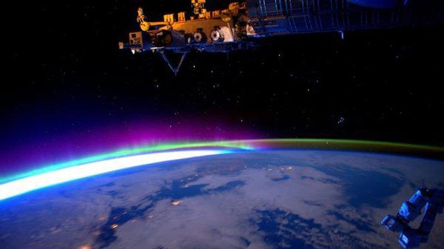This photo was posted by astronaut Scott Kelly from the ISS. (NASA photo)