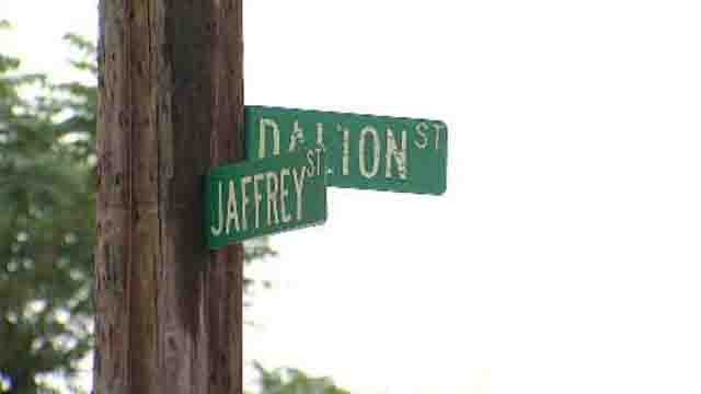 Police arrived at the area of Jaffrey and Dalton Streets, they said they found several shell casings. (WFSB)