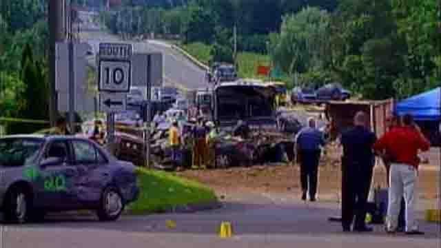 Avon Mountain crash 10 years ago (WFSB)