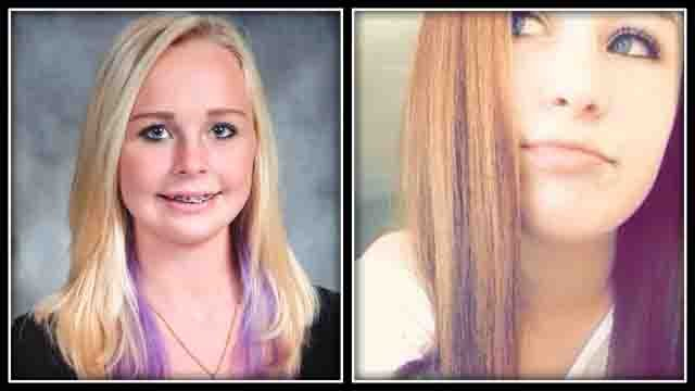 "16-year-old Annmarie ""Annie"" Olender and 14-year-old Olivia Fusco were killed in a crash on I-84 in Southington Tuesday (submitted)"