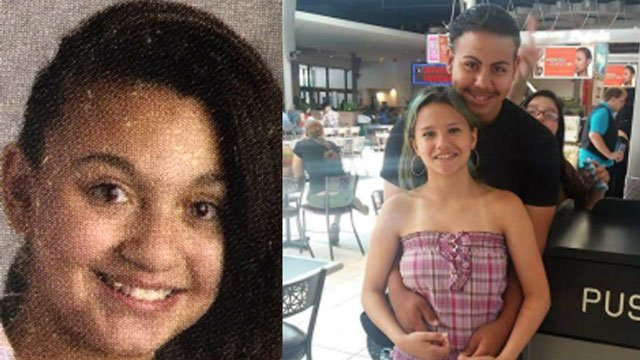 Annabella Misteroni (left) and Alyssa Viveiros (right) were last seen around 11:30 a.m. on Wednesday. (Naugatuck police photos)