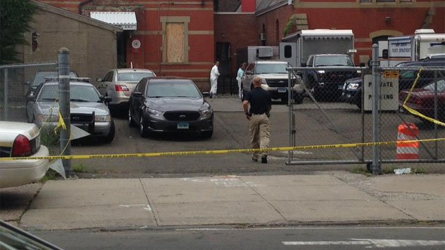 State Police Major Crimes and K-9 Unit are assisting New Haven Police Department (WFSB)