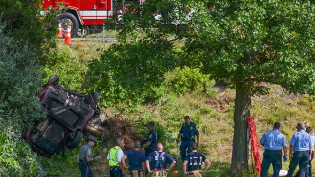 "This crash claimed the lives of 16-year-old Annmarie ""Annie"" Olender and 14-year-old Olivia Fusco. (Bryan Lipiner/Record-Journal)"