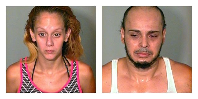 Francisco Rolon and Alexandria Moya are facing drug charges. (New London Police Department)