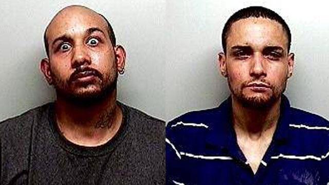Carlos Cartagena (left) and Angel-Diaz (right). (Newington police photos)