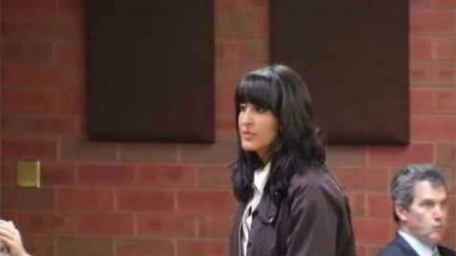 Tiffany Stevens during a previous court appearance. (WFSB file photo)