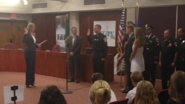 Windsor welcomes new police chief (WFSB)