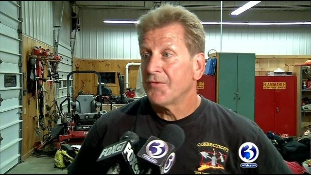 Connecticut firefighters heading to fight wildfires in California. (WFSB)