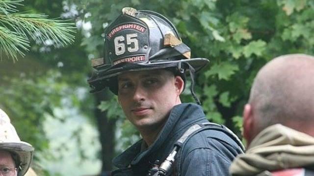 Assistant Chief Michael Kronick. (Westport Fire Department photo)