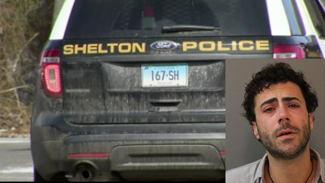 Shelton police have charged a man who they said stuck his finger in a 4-year-old boy's ear. (Shelton Police)