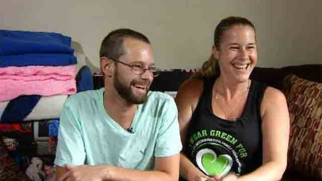 Bristol couple goes through living donor process (WFSB)