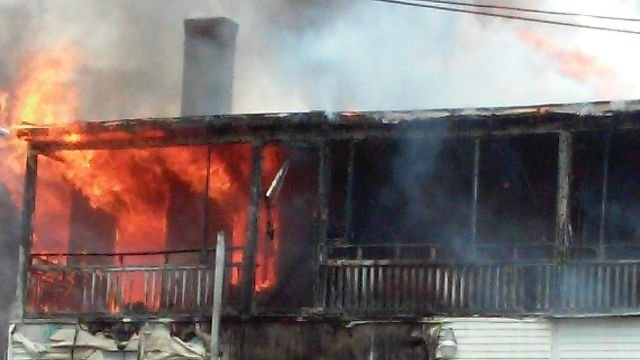 iWitness viewer sent in this photo of the fire