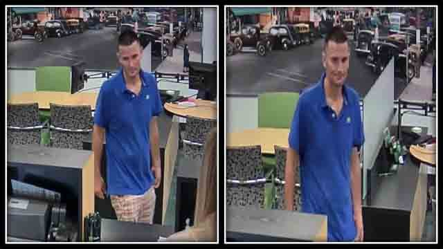 West Hartford police search for bank robbery suspect