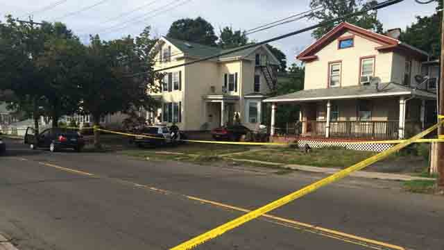 West Haven police respond to shooting on Washington Avenue (WFSB)