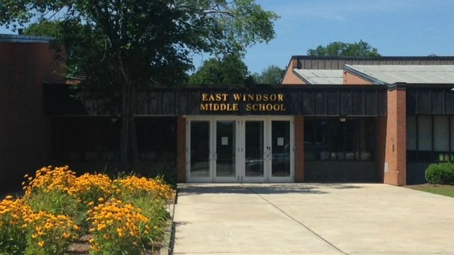 One arrested after break-in at East Windsor Middle School on Friday. (WFSB)
