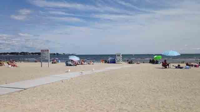 Silver Sands in Milford (WFSB)