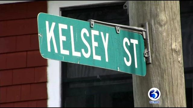 A man died on Kelsey Street after being Tased by Hartford police. (WFSB)