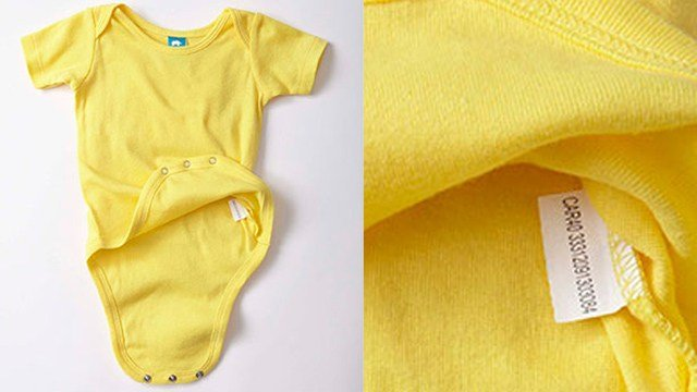 Precious Cargo said it recalled these onesies due to a choking hazard. (preciouscargokids.com photo)
