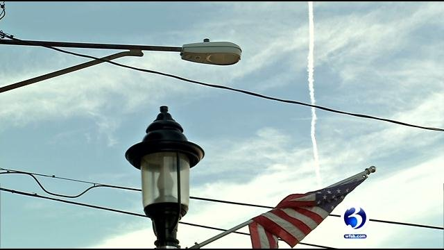 The town of Plainvile is looking to add more than 120 fixtures that would provide wireless hot spots in the center of town. (WFSB)