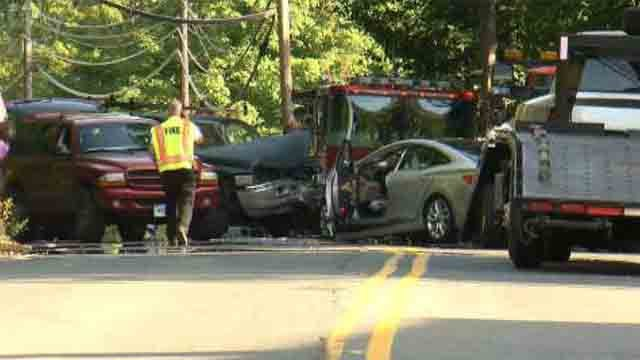 Crash closes Route 17 in Portland (WFSB)