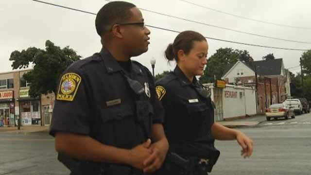 Hamden police launch walking beat (WFSB)
