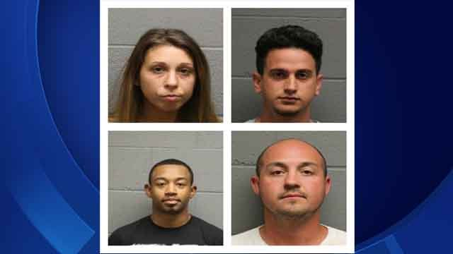Four people are facing charges following a home invasion in Watertown that happened earlier this month. (Watertown police)