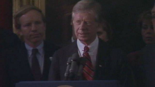 Jimmy Carter also visited Hartford during his presidency in 1980. (WFSB file)
