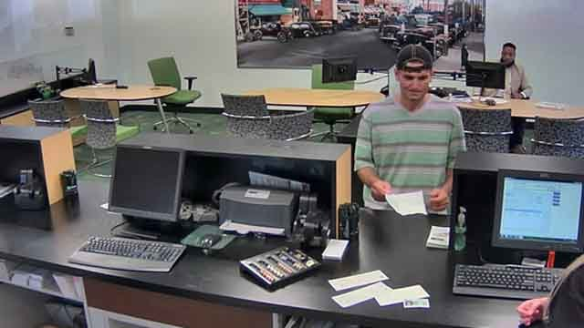 West Hartford police are investigating another bank robbery at TD Bank on South Main Street. (West Hartford Police)