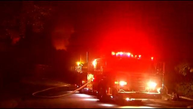 Fire breaks out at Waterbury building (WFSB)