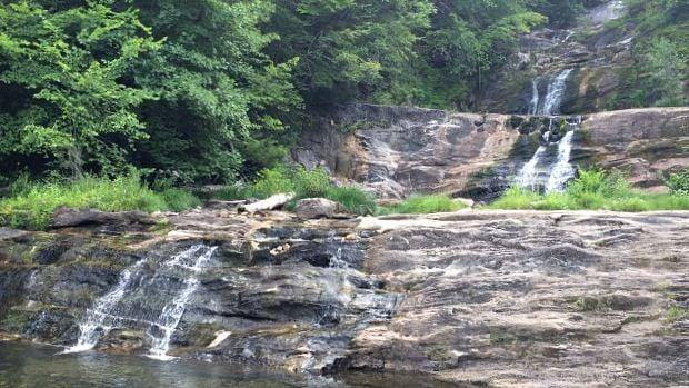 Cascades at Kent Falls