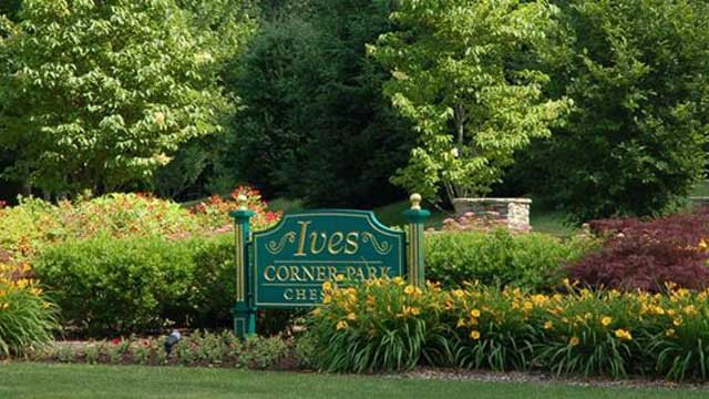 Cheshire, and its Ives Corner Park, were named one of the top 50 best places to live by TIME Money. (Facebook photo)
