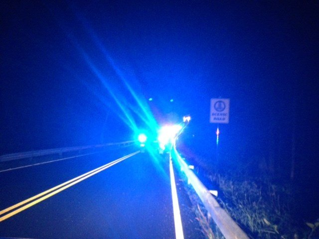 Serious 1-car crash reported on Baker Road in Vernon. (WFSB)