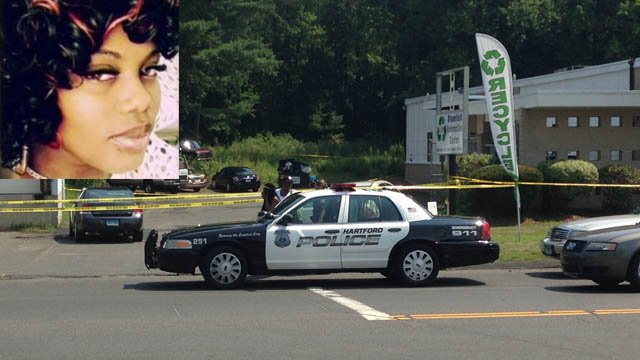 A body found behind a business in Granby has been identified as Tashauna Jackson of Hartford. (Family/WFSB photos)