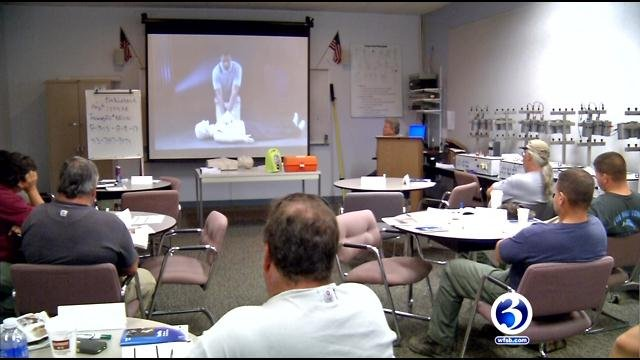 CPR training for Eversource workers comes in handy (WFSB)