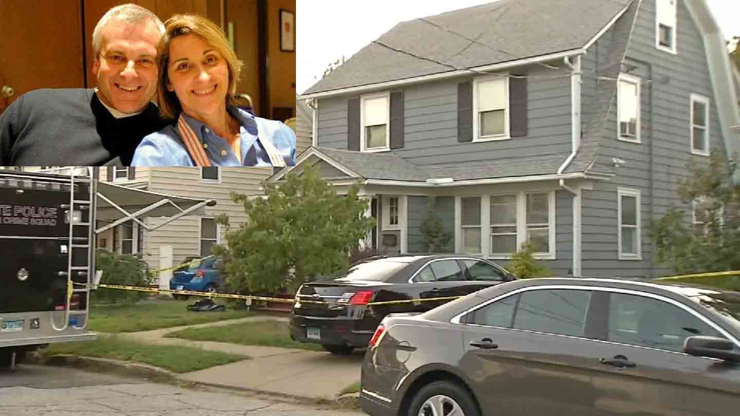 Investigation into missing Easton couple led police to Kyle Navin's Bridgeport home. (WFSB)