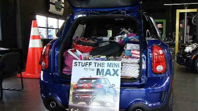 Shoppers to stuff cars with school supplies for Hartford students (WFSB)